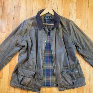 Vintage Barbour Wax Jacket (Olive)
